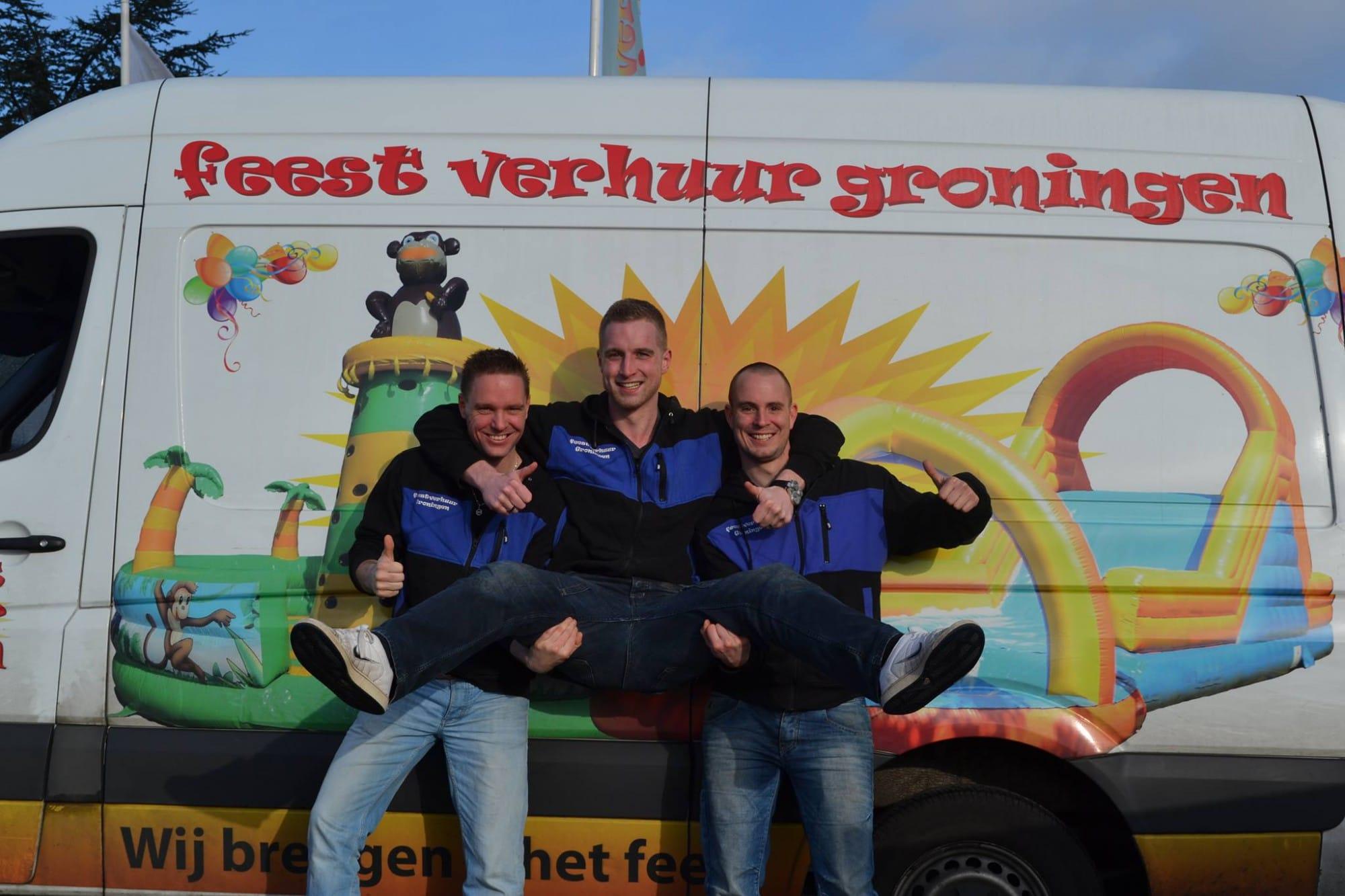 Feestverhuur Groningen - Wij brengen u het feest